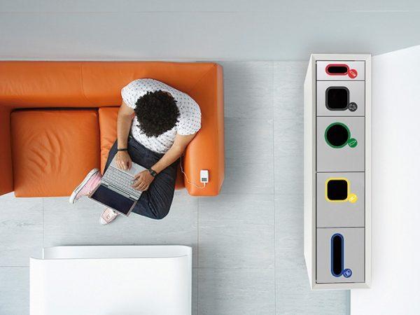 ZELL - Caixote de Lixo Criativo - Mobiliário Complementar | MadeDesign Portugal
