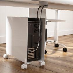 CPU wheeled support - Suporte para computador | MadeDesign Portugal