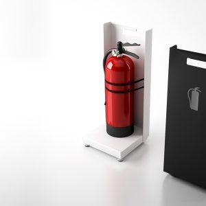 FAYA - Suporte discreto para extintores | MadeDesign Portugal