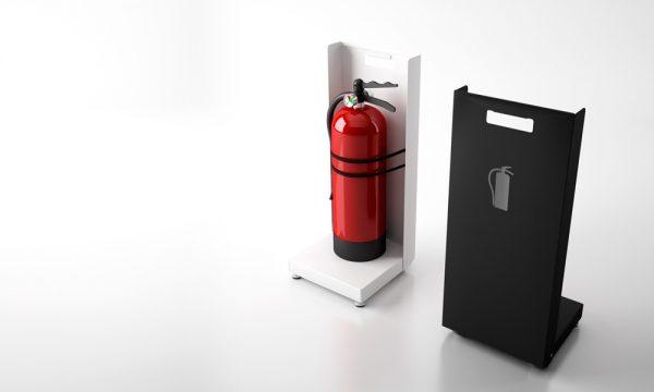 FAYA - Suporte discreto para extintores   MadeDesign Portugal