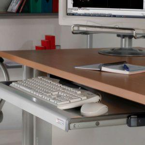 gavetas para teclado